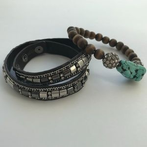 Two Stella & Dot Boho Bracelets